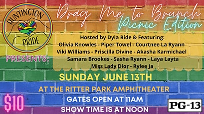 Drag Me To Brunch - Picnic Edition at Ritter Park Amphitheater tickets
