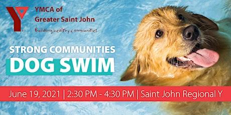 Strong Communities Dog Swim tickets