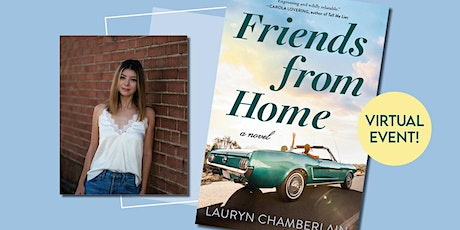 Hometown author Lauryn Chamberlain's debuts Friends From Home billets