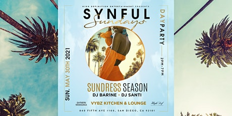 SYNFUL SUNDAYZ : Sundress Season tickets