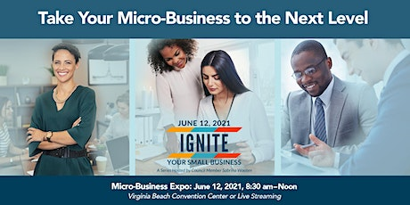 Micro-Business Expo: Taking Your Micro-Business to the Next Level tickets