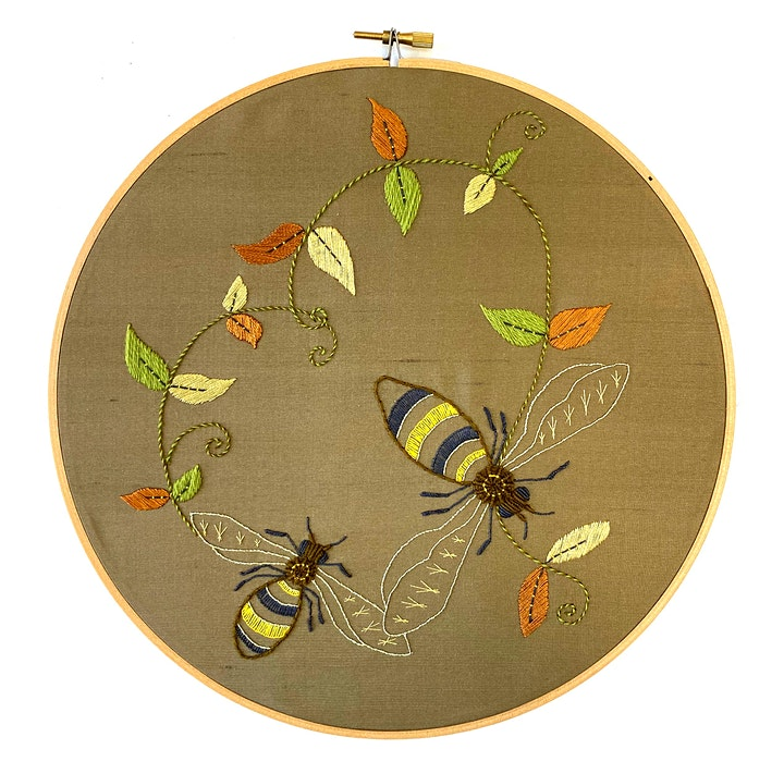 Introduction to Embroidery: Traditional Insect image