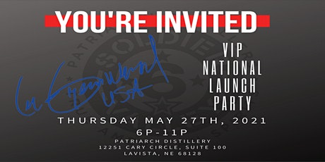 """Lee Greenwood """"Signature Spirits"""" National Brand Launch Party tickets"""