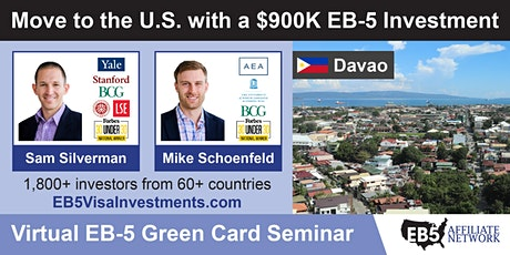 U.S. Green Card Virtual Seminar – Davao, Philippines tickets
