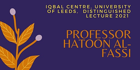 Iqbal Centre Distinguished Lecture tickets
