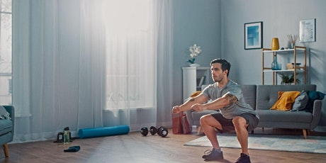 Science-Based Bodyweight Workout: Build Muscle Without A Gym Virtual Class tickets