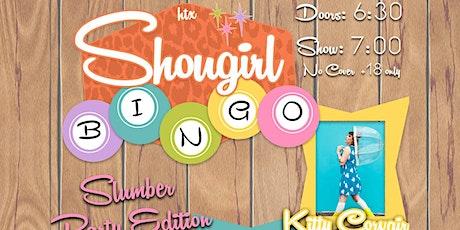 SHOWGIRL BINGO - w/ HOSTS KITTY CORVAIR, DAHLIA DERRINGER & BAMBI LA BAMBA tickets