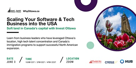 Scaling Your Software & Tech Business into the USA tickets