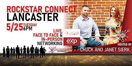 Free Rockstar Connect Lancaster Networking Event (May, Lancaster) tickets
