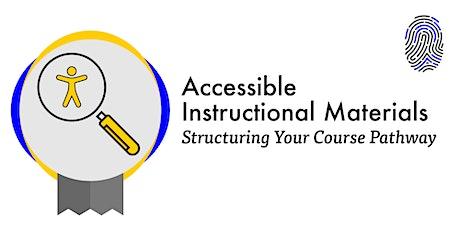 Accessible Instructional Materials Webinar (Summer 2021) tickets