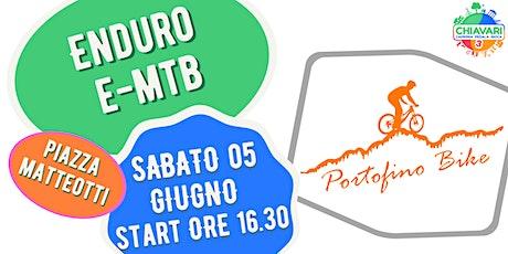 CPG 2021 - PEDALATA ENDURO E-MTB by PortofinoBike biglietti