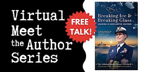 "Virtual Talk: ""Breaking Ice & Breaking Glass"" with Sandra Stosz tickets"