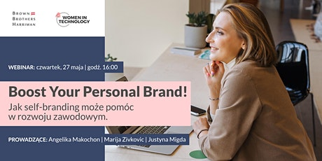 Boost Your Personal Brand! tickets