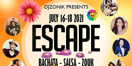 ESCAPE. (BACHATA, SALSA & ZOUK WEEKENDER) tickets
