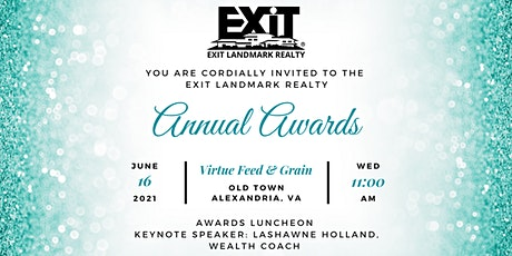 EXIT Landmark Realty Annual Awards tickets