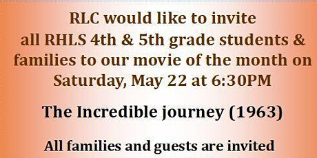 RLC Movie Night tickets