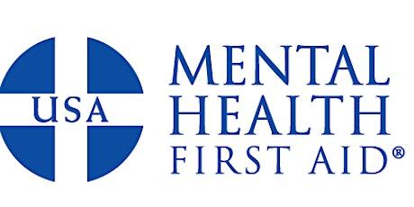 ADULT Mental Health First Aid (virtual) 08-19-21 tickets