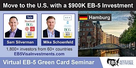 U.S. Green Card Virtual Seminar – Hamburg, Germany tickets
