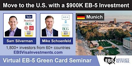 U.S. Green Card Virtual Seminar – Munich, Germany tickets