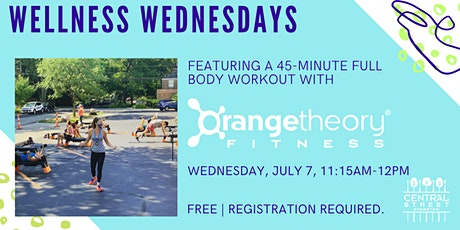 Wellness Wednesdays: Orangetheory Fitness tickets