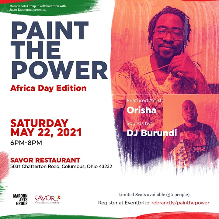 Paint the Power - Africa Day Edition image