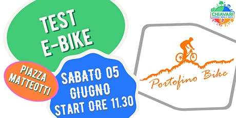 CPG  2021- TEST E-BIKE by PortofinoBike biglietti