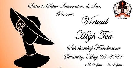 STSI Virtual High Tea Scholarship Fundraiser tickets