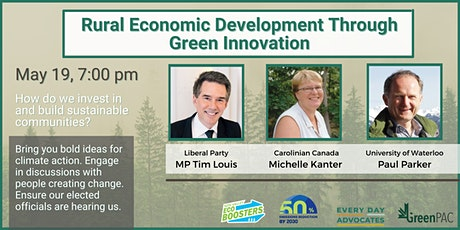 Environmental Townhall: Rural Economic Growth Through Green Innovation tickets