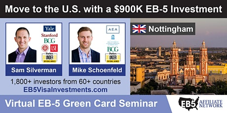 U.S. Green Card Virtual Seminar – Nottingham, UK tickets