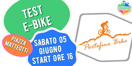 CPG 2021 - TEST E-BIKE by PortofinoBike biglietti