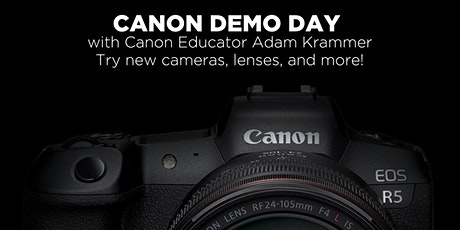 Canon Demo Day at Midwest Photo tickets