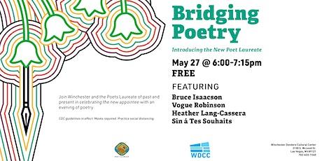 Bridging Poetry: Introducing the new Clark County Poet Laureate tickets
