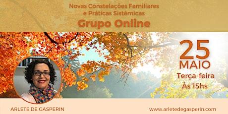 Constelação em Grupo e Práticas Sistêmicas Online (Terça às 15h) ingressos