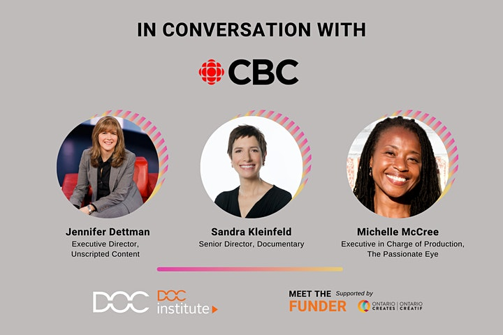 DOC Institute Presents: Meet the Funder with CBC image