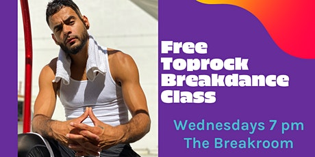 The Movement: Intro to Toprock & Breakdancing [FREE CLASS] tickets