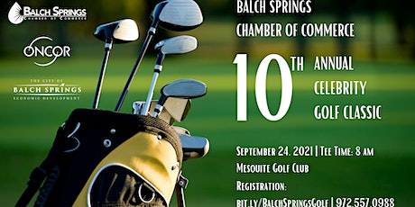 2021 Balch Springs Chamber Celebrity Golf Classic Volunteer Opportunity tickets