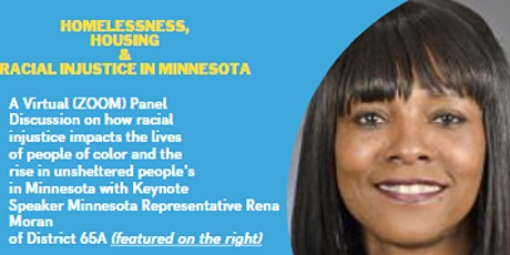 Homelessness, Housing and, Racial Injustice in MN tickets