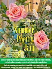 Summer Poetry Jam 2021 tickets