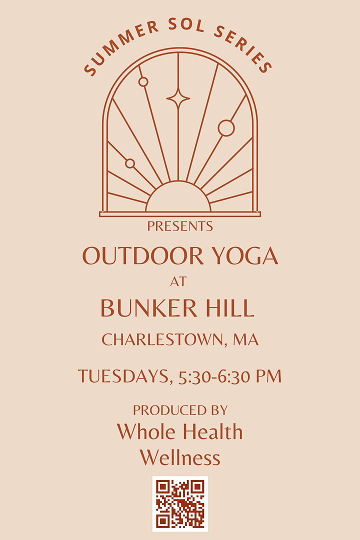 Summer Sol Series Outdoor Yoga at Bunker Hill image
