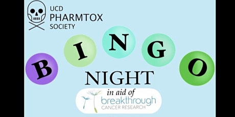 PharmTox's Bingo Night Fundraiser for Breakthrough Cancer Research! tickets