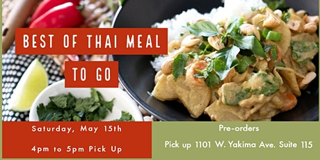 Best of Thai Meal To Go tickets