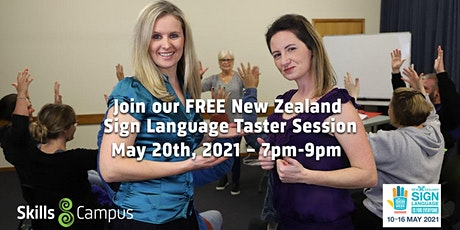 Free New Zealand Sign Language Taster Class tickets
