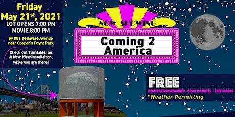"Outdoor Movie Night!  ""Coming 2 America"" tickets"