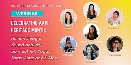 Astrology, Human Design, Tarot, Sound Healing, Spiritual Art & Yoga Webinar bilhetes