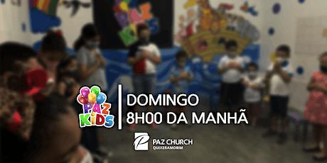 Paz Kids 8h00 | Domingo, 16 de Maio | Paz Quixeramobim ingressos