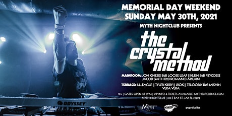 The Crystal Method at Myth Nightclub | Sunday 5.30.21 tickets