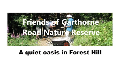 Friends of Garthorne Road Nature Reserve Conservation Workdays tickets