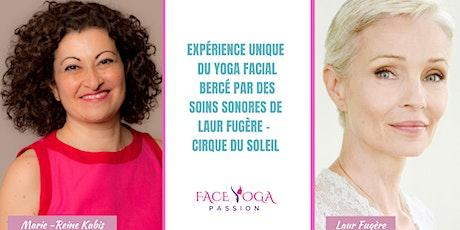 Rajeunir avec le yoga facial et la magie des soins sonores. billets