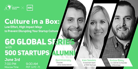 Culture in a Box - Ways to prevent disrupting your startup culture tickets