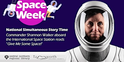 FREE! Story Time from the International Space Station – Ages 1 to 5